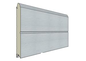 plank garagedeur