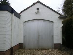 Garagedeur Bilthoven oude situatie