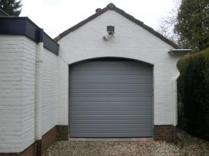Garagedeur Bilthoven nieuwe situatie