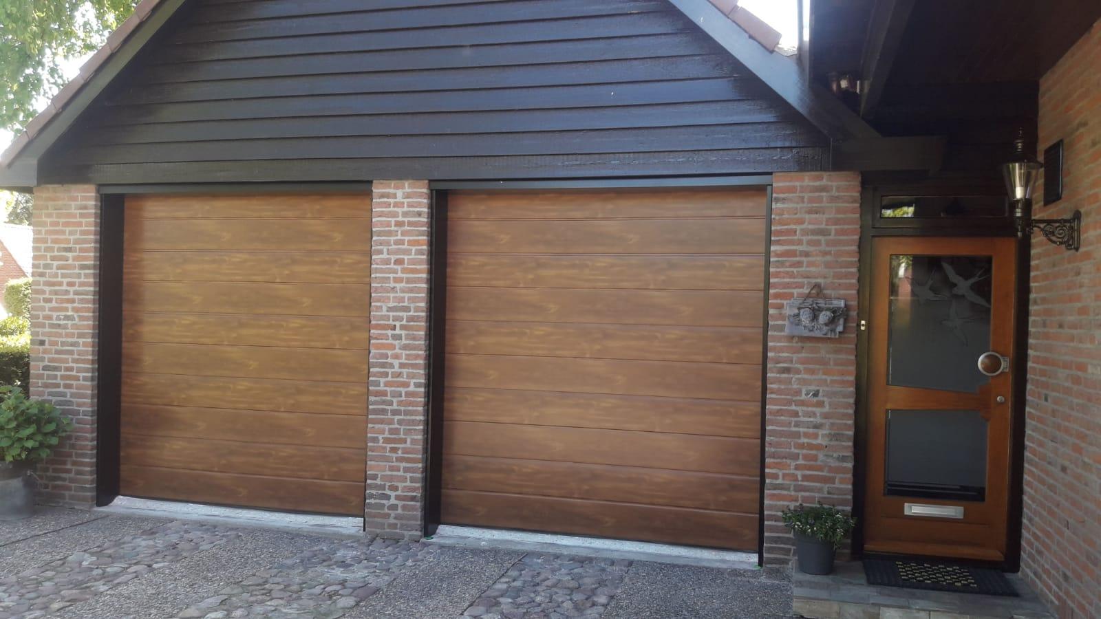 Luxe Line Twin deur W&W Garagedeuren